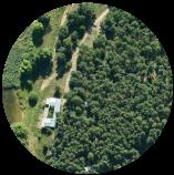 Overhead View - Landscape
